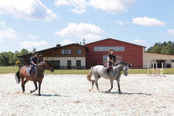 Horse riding centre Zirgas